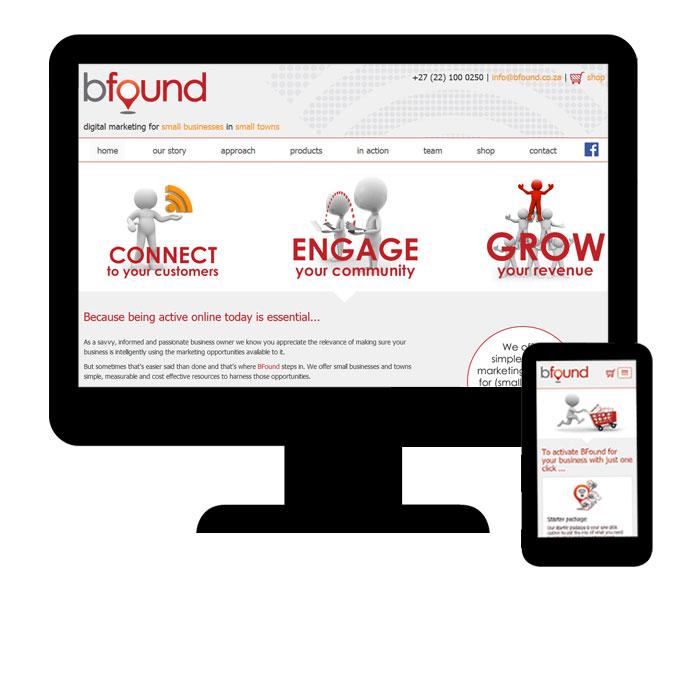 Bfound Website